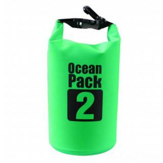 Водонепроницаемая сумка-мешок Ocean Pack, 2 L, Цвет: Зеленый