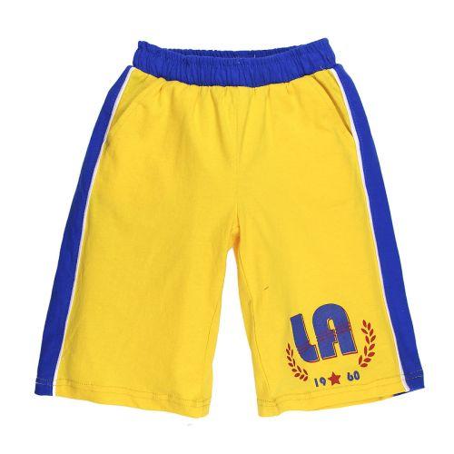 Бриджи для мальчика 5-8 лет Happy Kids HK323 желтые