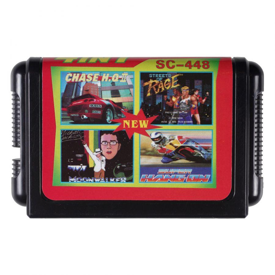 Sega картридж 4 в 1 SC-448