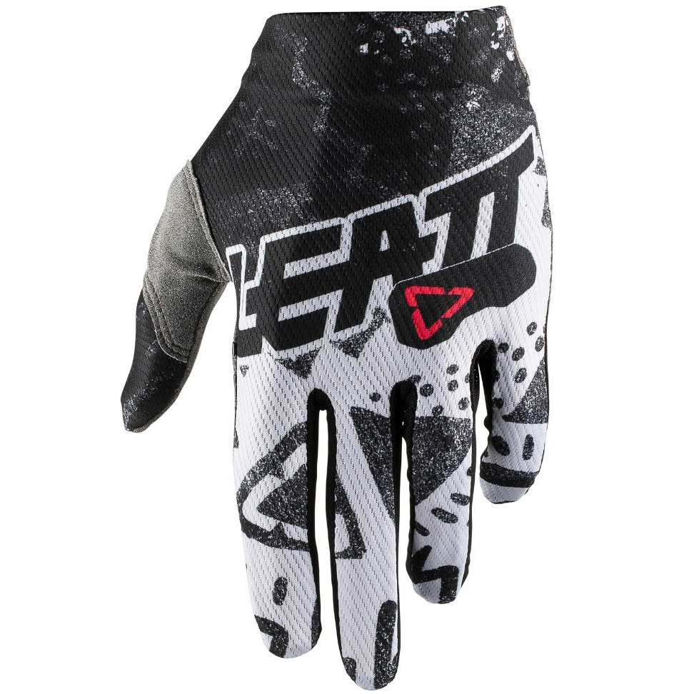 Leatt - GPX 1.5 GripR Glove Tech White перчатки, белые
