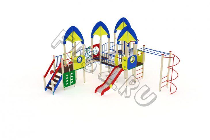 Детский игровой комплекс                           Космопорт Горка 1200                                           9030х8710х4220