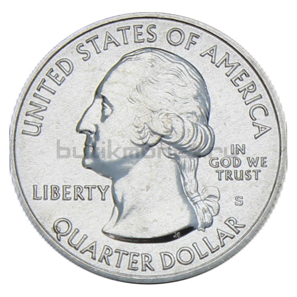 25 центов 2019 США Национальный исторический парк Лоуэлл S