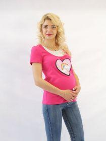 Футболка для беременных и кормящих У-322.0.Ф