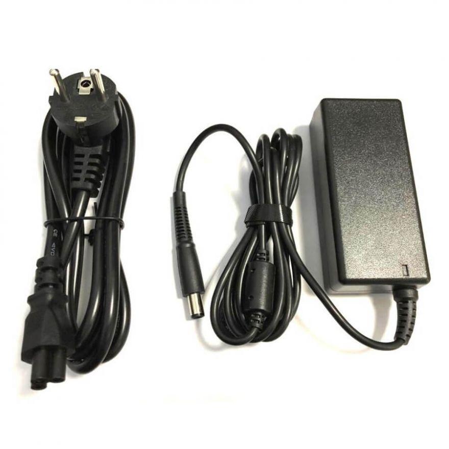 Зарядное устройство (блок питания) для ноутбука Dell 19,5V 3,34A (65W) 7,4x5мм с иглой