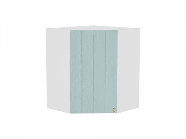 Шкаф верхний угловой Прованс ВУ590 (голубой)