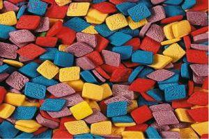 Посыпка РОМбЫ разноцветные 50 гр.
