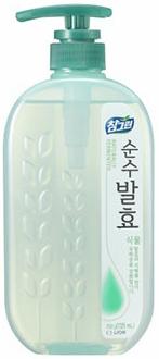 CJ Lion Средство для мытья посуды Chamgreen Pure Fermentation Растительные ферменты флакон-дозатор 720 мл