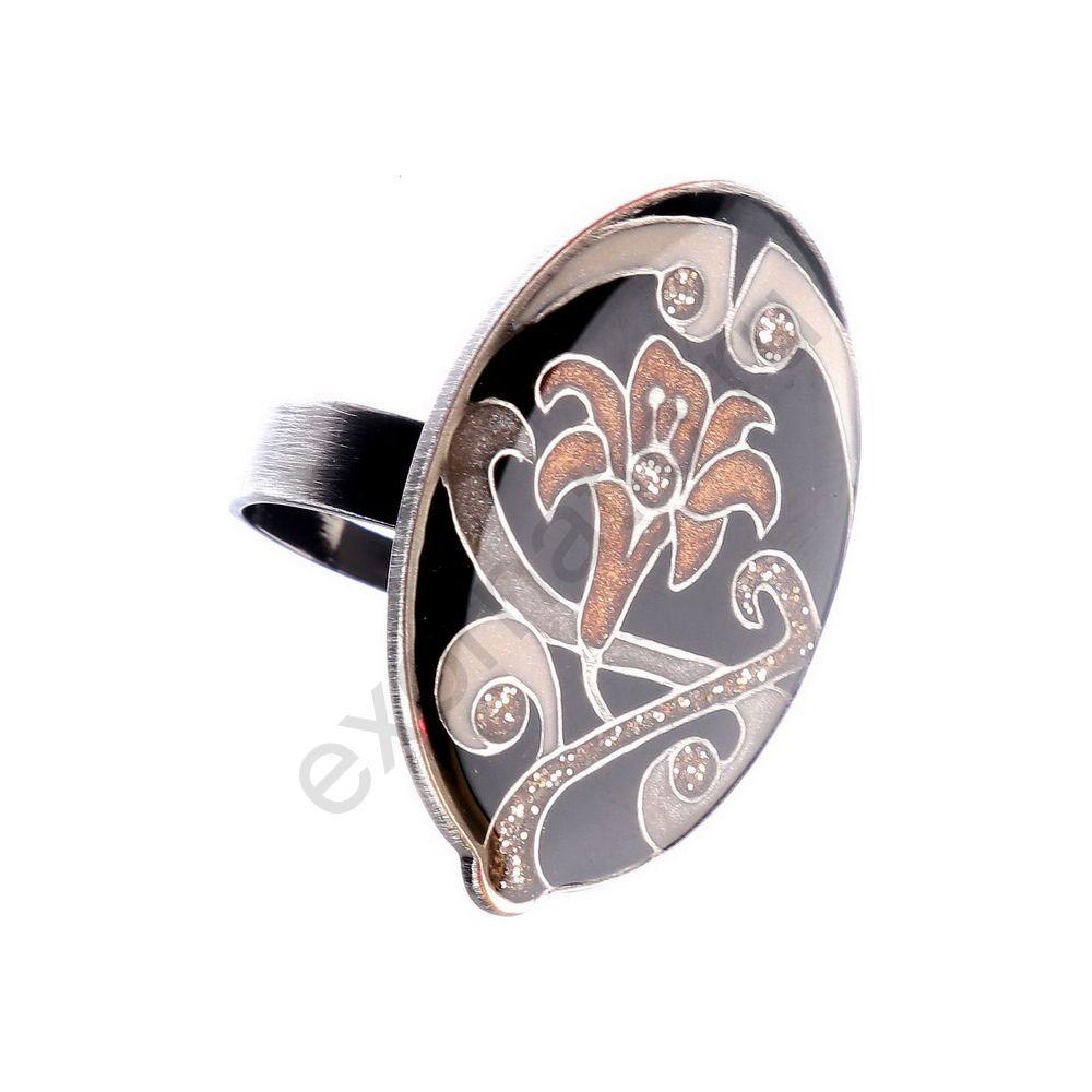 Кольцо Clara Bijoux K77366 BR/BW
