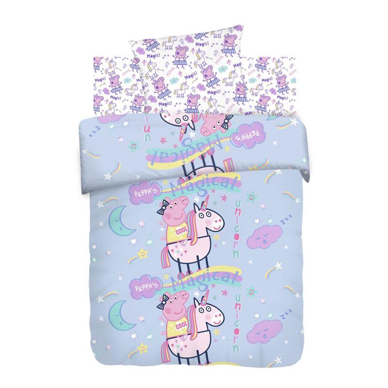 """Детское постельное белье """"Волшебный сон"""", рис.16031-16032 (Свинка Пеппа)"""