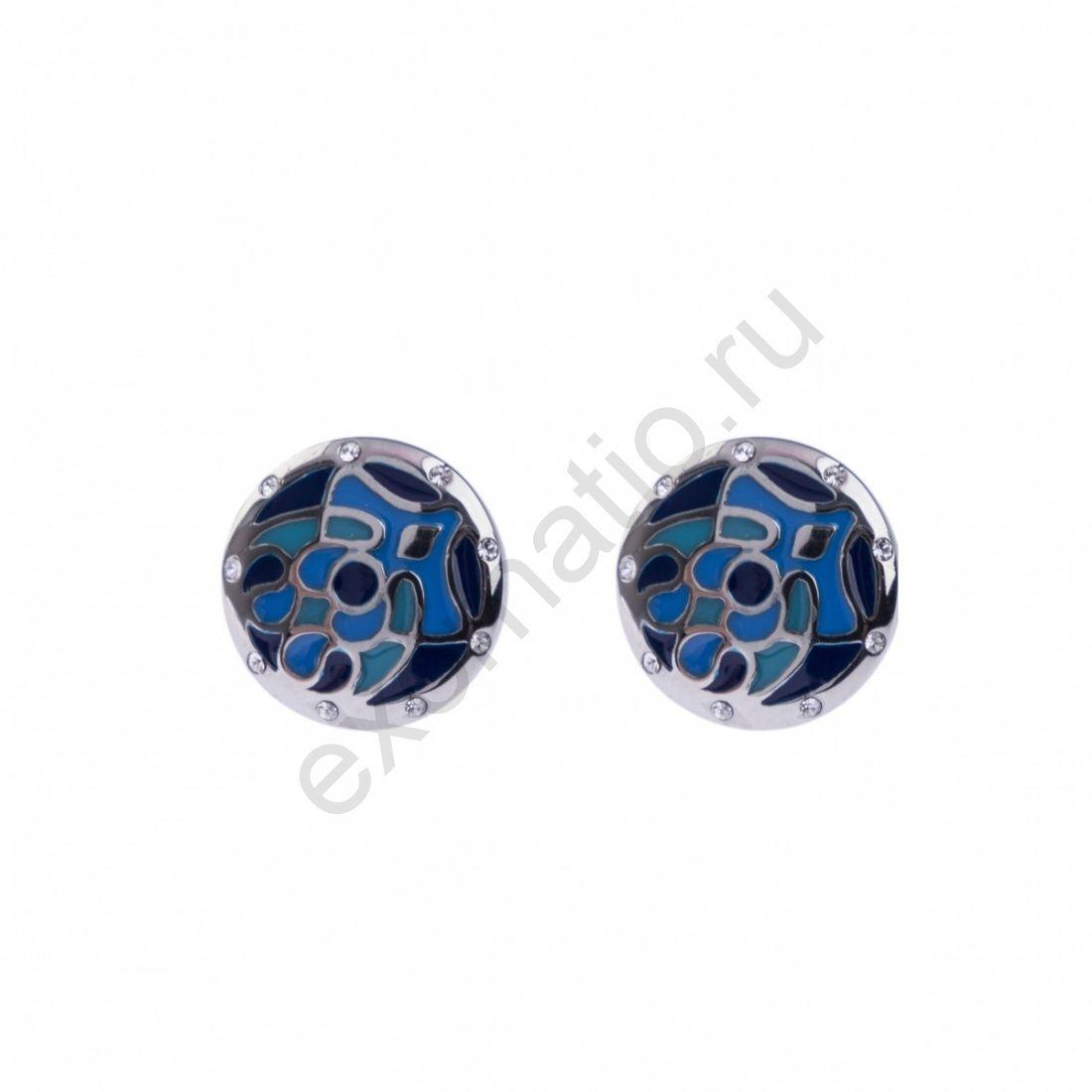 Серьги Fiore Luna AE01219-1 BL