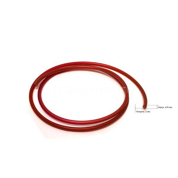 Трубка под быстросъем 10 мм, красная, 1 метр