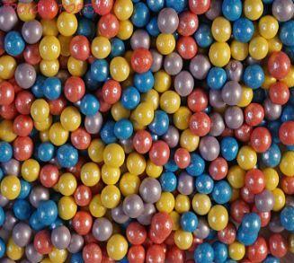 """Шарики сахарные """"Осеннее тепло """" ( d-5мм) перламутровый вес 50 гр."""