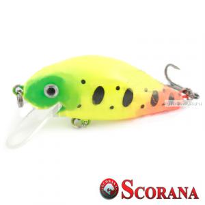 Воблер Scorana Sailor Shad 60F 60 мм / 6 гр / Заглубление: 0 - 1 м / цвет: GYR