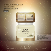 МАСКА BLACK SHINING STAR 3 STEP www.sklad78.ru