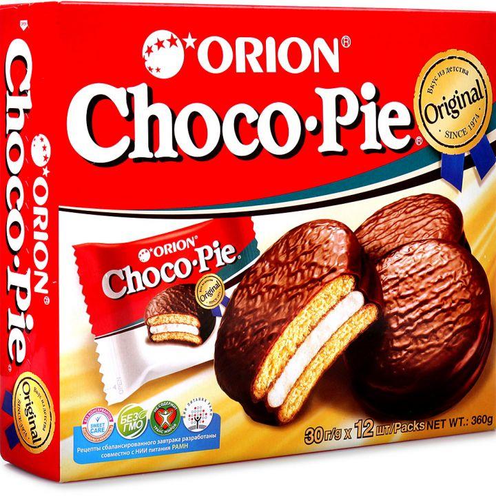 Печенье Чокопай 360г (12шт)