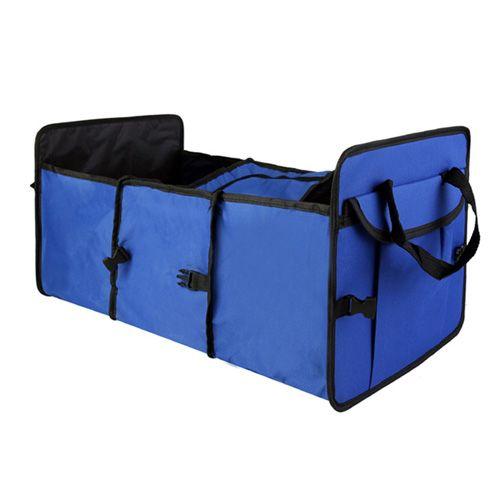 Органайзер - холодильник в багажник автомобиля Trunk Organizer & Cooler, синий.