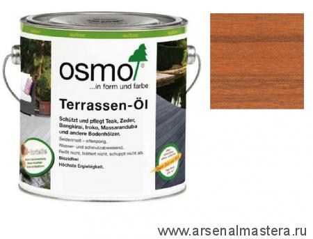Масло для террас Osmo 006 Terrassen-Ole для бангкирай Натуральный тон 2,5л
