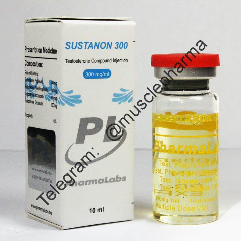 SUSTANON 300 (СУСТАНОН 300 мг). PHARMALABS. 1 флакон * 10 мл.