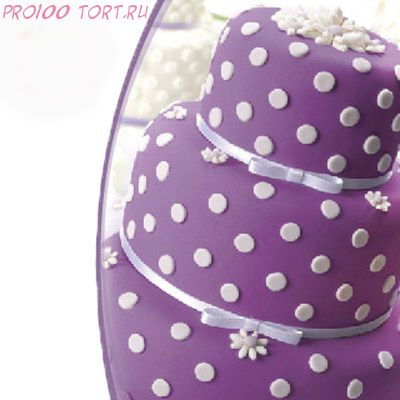 Мастика сахарная Фиолетовая вес 600 гр.