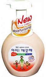 CJ Lion Пенное мыло для рук Ai - Kekute с ароматом персика увлажнение флакон-дозатор 250 мл