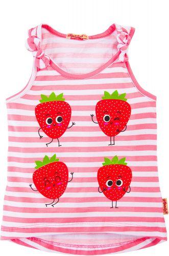 Майка для девочек 3-7 лет Bonito BK1188P розовая