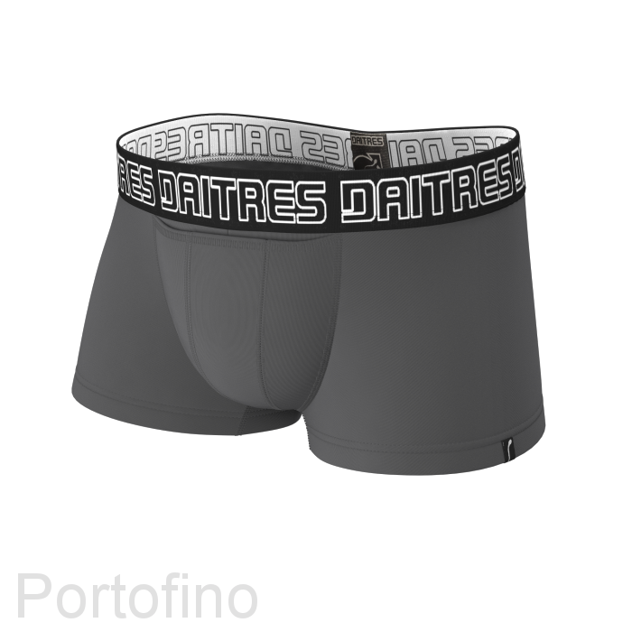 Daitres мужские трусы-шорты короткие Бамбук серый