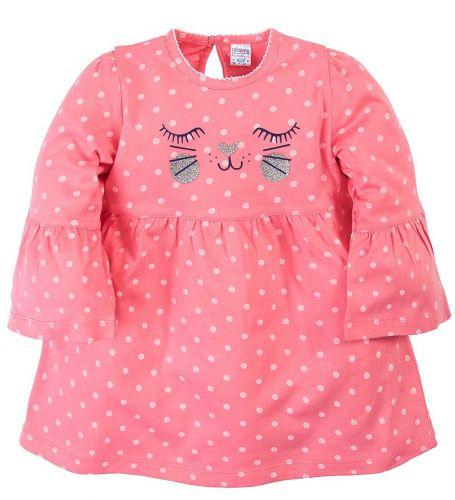 Платье для девочек 6-18 мес.Bonito OR279P коралловое