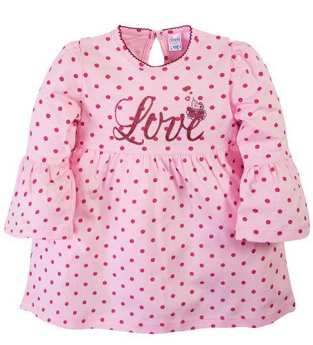 Платье для девочек 6-18 мес.Bonito OR279P розовое