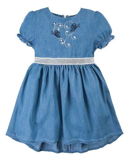 Джинсовое платье на девочки 2-6 лет Bonito OP780P