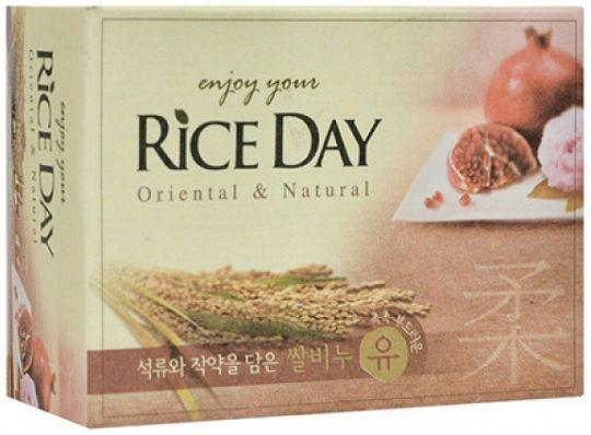CJ Lion Rice Day Mыло туалетное Гранат и пион 100 г