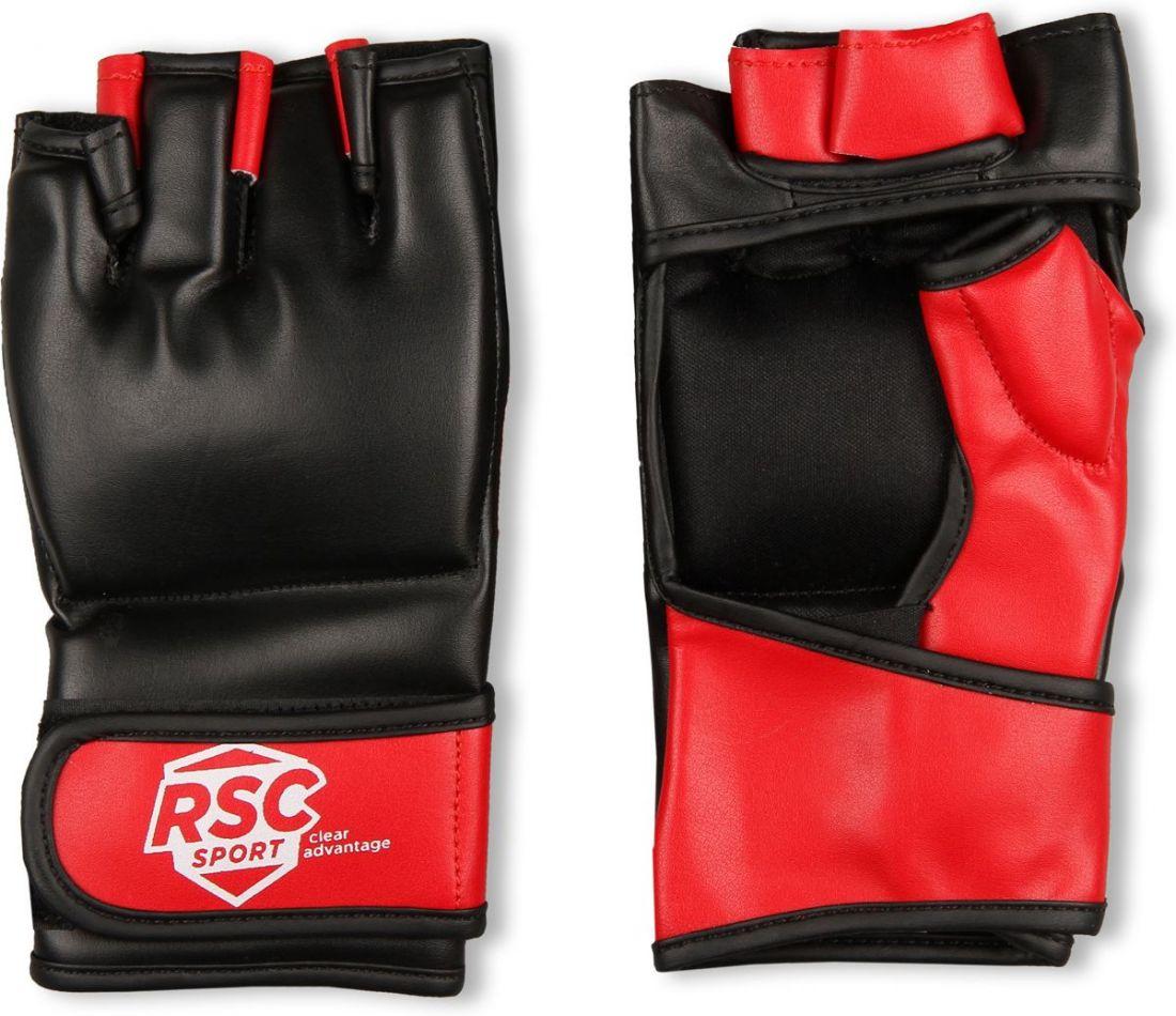 Перчатки для ММА RSC BF-MM-4001 красно-черные