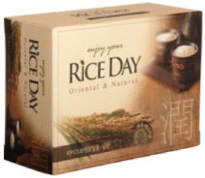 CJ Lion Rice Day Mыло туалетное Рисовые отруби 100 г