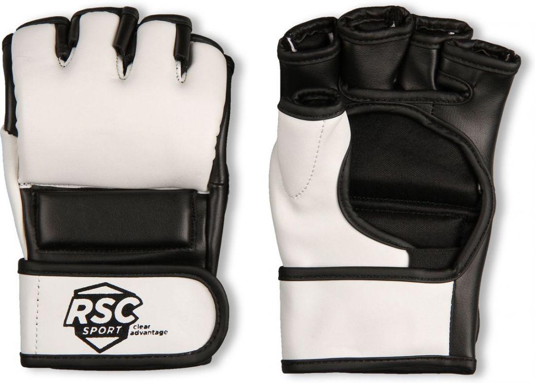 Перчатки для ММА RSC BF-MM-4006 бело-черные