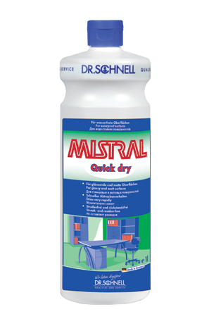 Dr.Schnell Mistral Quick Dry (Мистраль Квик драй) Моющее средство, 1 л