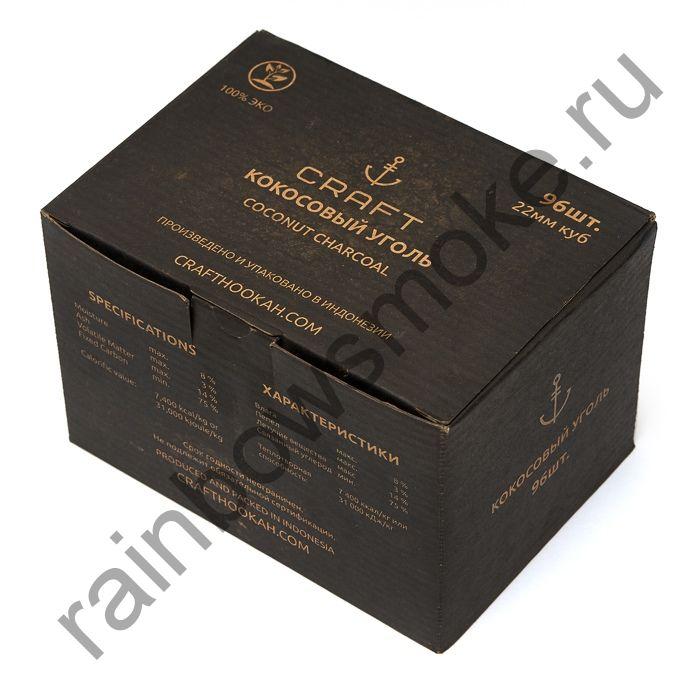 Уголь кокосовый для кальяна Craft 22мм (96шт)