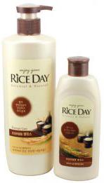 CJ Lion Riceday Шампунь для повреждённых волос Увлажняющий 550 мл