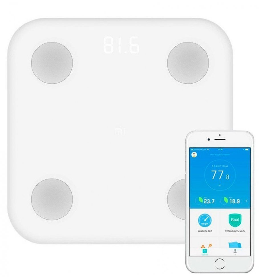 Умные весы Xiaomi Mi Body Composition Scale 2