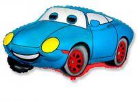 Шар фольга Фигура Машина Тачка синяя G36 с гелием