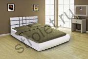 Кровать Классик 1,6 с подъемным механизмом (белый)