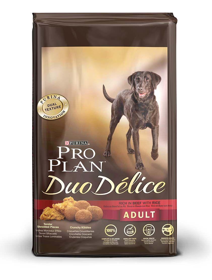 Корм сухой PRO PLAN DUO DELICE ADULT BEEF для взрослых собак с говядиной и рисом 2,5 кг.