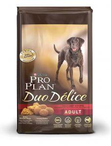 Корм сухой PRO PLAN DUO DELICE ADULT BEEF для взрослых собак с говядиной и рисом 2,5 кг