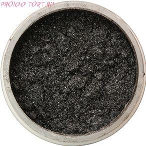 Сухой блестящий краситель Чёрный 5г. Food Colours