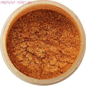 Сухой блестящий краситель Античное золото   5г. Food Colours