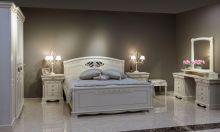 Кровать ЛАУРА 180*200 с изножьем эмаль
