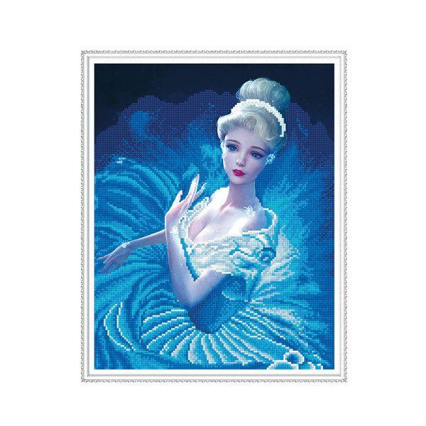 Набор Алмазная мозаика В вихре танца с рамкой 40*50см