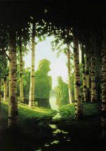 Берёзовая роща  (Репродукция Архип Куинджи 1901 г.)