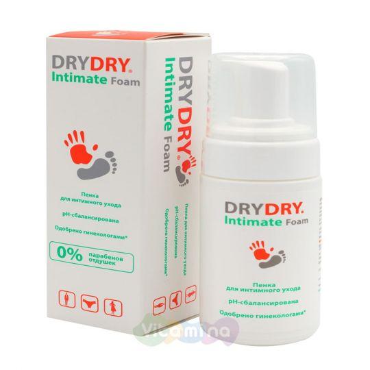DRYDRY Intimate Foam Пенка для интимного ухода, 100 мл