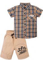 Костюм для мальчика 2-5 лет Bonito OP342 бежевый