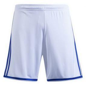 Детские игровые шорты adidas Regista 18 бело-синие