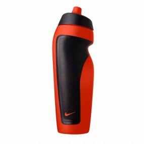 Красно-чёрная спортивная бутылка для воды Nike sport water bottle